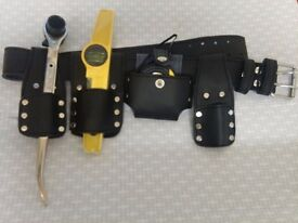 Scaffolding Black leather with three PCS tools