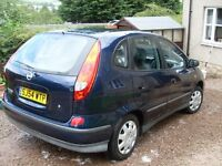 Nissan Almera, Good condition, 12 Months M.O.T. New Tyres, Good Runner