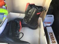 Honeywell size7 safety boots brand new in box