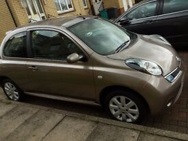 Nissan Micra Acenta Plus, automatic, very low- 17k miles