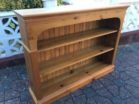 Solid pine 4ft x 3ft bookcase with delivery