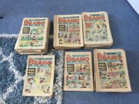 Original old beano comics date from 1977-1999