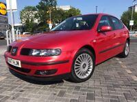 2001 Seat Leon 1.8T Cupra 220 BHP Remapped Beautiful Example Rare Colour 6 Speed Manual 137K Fsh