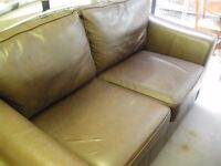 MARKS & SPENCER LEATHER SOFA