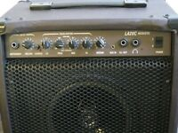 Laney LA20C 20 watt acoustic guitar amp with Reverb, Chorus and anti-feedback control