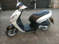 Peugeot Kisbee 50cc moped cheap to insure and run