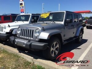 2016 Jeep WRANGLER UNLIMITED SAHARA UNLIMITED*2 TOITS*MANUELLE*G