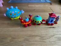 Ninky nonk & pinky ponk toys £4 each
