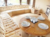 STATIC CARAVAN FOR SALE AT SANDY BAY - 12 MONTH SEASON HOLIDAY PARK - LOW FEES - ON THE COAST
