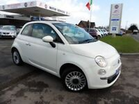 Fiat 500 LOUNGE (white) 2012