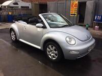 Volkswagen Beetle convertible 2.0 low mileage 03 Reg leather interior