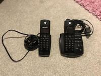 MOTOROLA cordless home phone (pair)
