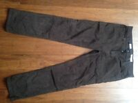 Brown Cord Trousers from Next