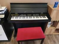 Digital Piano with Storage Stool