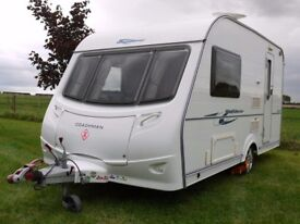 Coachman Wanderer 380/2 2008 Quality Touring Caravan Fully Serviced Non-Smokers/Pets Equipment Inc