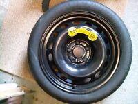 Space saver spare wheel T115/70 R16 Audi A6