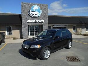 2013 BMW X3 X DRIVE! GLASS ROOF! FINANCING AVAILABLE