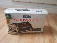 Sega Master System 2 - Boxed - Four Games & Alex The Kidd built in.