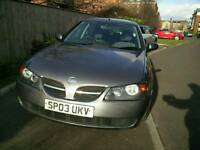Nissan Almera 1.5, SE (2003), MOT till 23/09/17, major service done in Jan17, new tyres