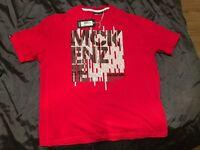 5 men's T-shirts XL