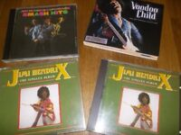4 x Rare Jimi Hendrix CD'S