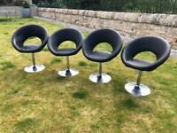 Set of 4 Dwell chairs