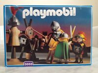 Playmobil 3668 rare medieval knights jousting