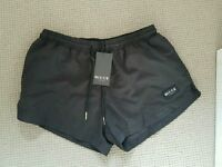 Nicce Black Swimming Shorts M