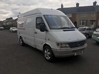 Mercedes Sprinter 308D tyre fitting van.. complete ready to go..£1995
