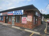 high profile corner lot retail or office space