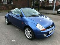 2003 53 FORD StreetKA 1.6 LUXURY SPORT CONVERTIBLE