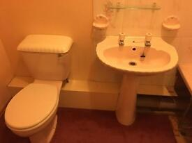Balterley Shell Toilet, Sink and matching accessories