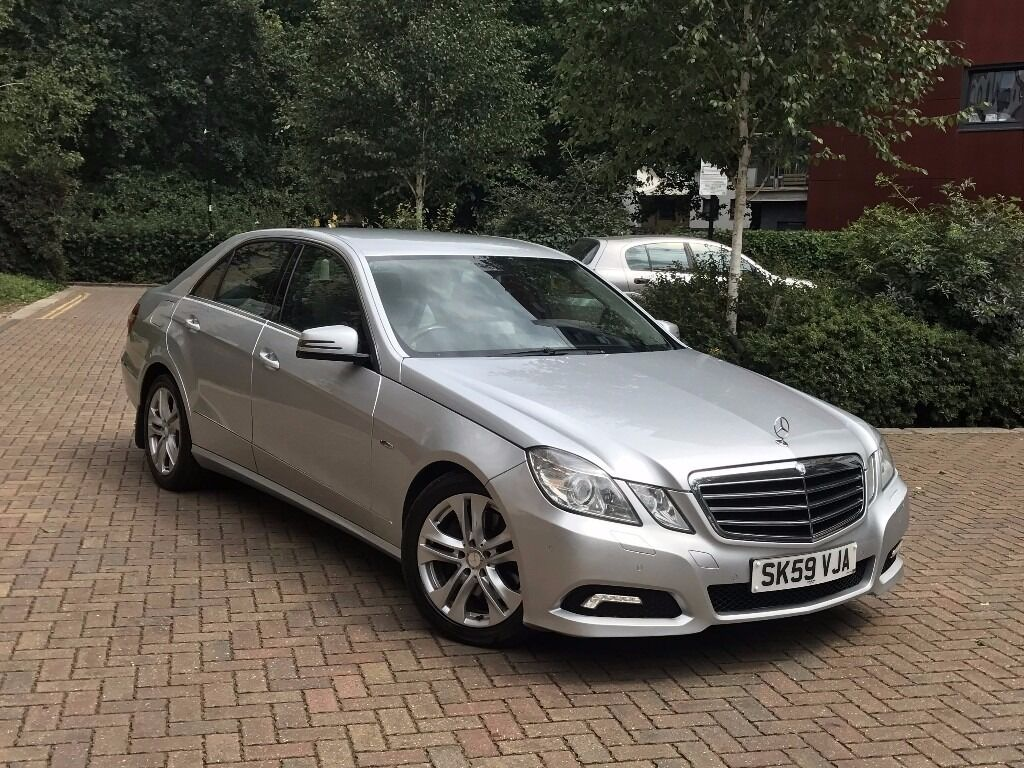mercedes e250 cdi avantgarde silver grey leather in acton london gumtree. Black Bedroom Furniture Sets. Home Design Ideas