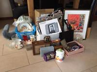 Bric a brac suitable for car boot