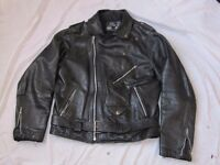 For Sale: Leather Biker style Jacket