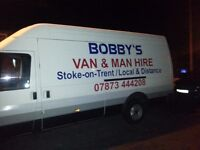 Man and van hire. Local or long distance. No obligatiin quote. No job to small