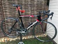 Cervelo S2 56cm racing bike