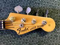 Fender USA Jazz Bass 1972 - 3x Tone SUNBURST - With Hard Case