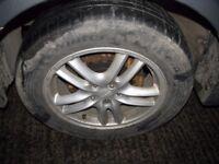 "Subaru Impreza 17"" WRX Alloy Wheels & Tyres 5x100 GC8 Bugeye Blobeye"