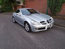 Mercedes Benz SLK Convertible in immaculate condition
