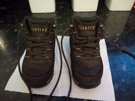 Size C7 brown Firetrap boots