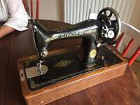 SINGER SEWING MACHINE 1929