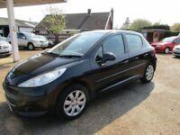 Peugeot 207 5 Door Black