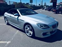 2011 61 BMW 640d MSPORT **CONVERTIBLE** FULLY LOADED-REVERSE CAMERA-HIGH SPEC, MUST VIEW £15490