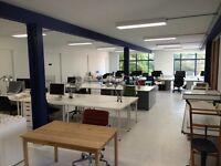 Hackney Road Desk Spaces in Architect's First Floor Studio