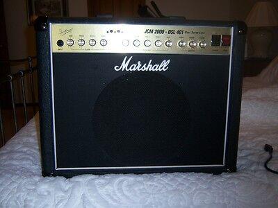 Marshall Jcm 2000 Dsl401 Dual Super Lead Combo Amp