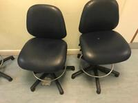 Leatherette Salon or Lab Chairs