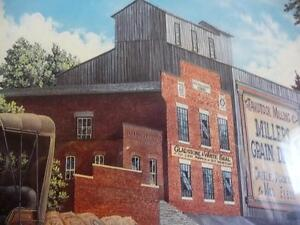 """Lance Russwurm """"The Mill and the Library"""" Signed and Numbered Stratford Kitchener Area image 8"""