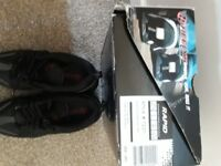 Heelys trainers - black size 6. Never worn - as new.