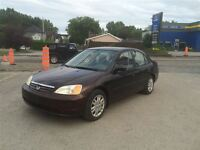 2001 Honda Civic DX-G 1750$ TAX ET TRANSIT INCLUS 514-692-0093